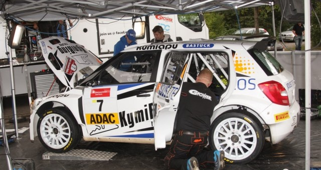 ADAC RALLYE MASTERS (DRM 2015): TGS WORLDWIDE TEAM –  TEEMU SUNINEN AND TONI GARDEMEISTER'S TGS TEAM WON THE ADAC LITERMONT- RALLY IN GERMANY