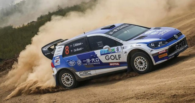 CHINESE RALLY CHAMPIONSHIP (CRC 2015): PRODRIVE MOTORSPORT – ATKINSON WINS AGAIN IN CHINA VW GOLF 7 SCRC