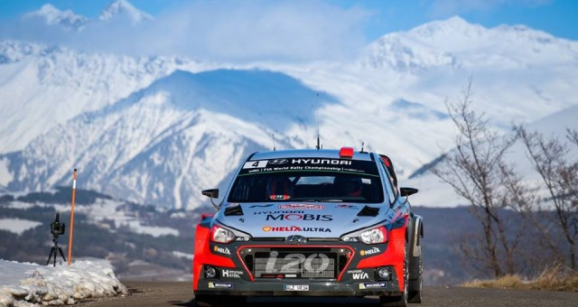 FIA WORLD RALLY CHAMPIONSHIP (WRC 2016): NEW GENERATION i20 WRC KICKS OFF 2016 WRC SEASON WITH A PODIUM FINISH AT RALLYE MONTE-CARLO