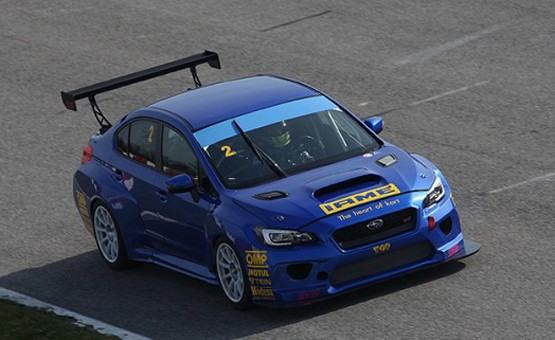 TCR INTERNATIONAL SERIES (TCR 2016): TOP RUN'S SUBARU TCR TAKES FURTHER STEP FORWARD