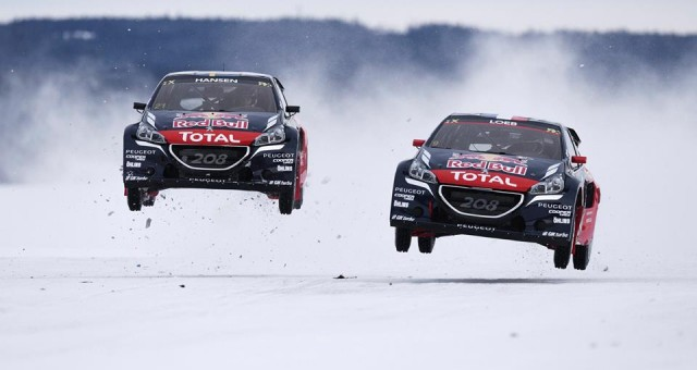 FIA WORLD RALLYCROSS CHAMPIONSHIP (WORLD RX 2016): SÉBASTIEN LOEB JOINS RALLYCROSS WORLD CHAMPION TEAM PEUGEOT HANSEN