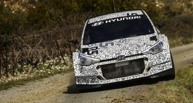FIA WORLD RALLY CHAMPIONSHIP (WRC2 – 2016): HYUNDAI MOTORSPORT'S NEW GENERATION i20 R5 PASSES MILESTONE WITH FIRST TARMAC TEST
