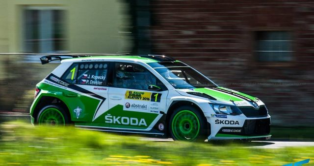 JAN KOPECKÝ OUT TO EXTEND HIS LEAD IN THE CZECH RALLY CHAMPIONSHIP