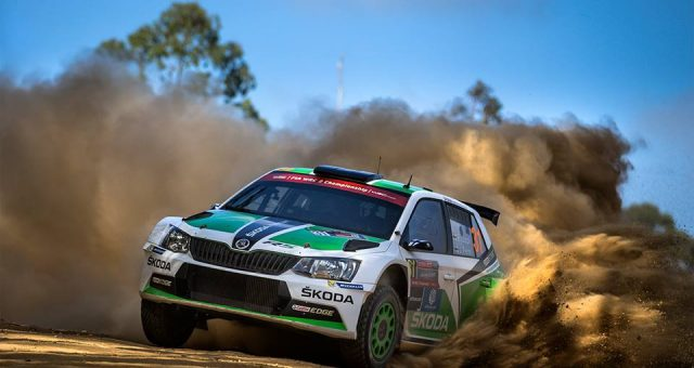 HISTORIC DAY FOR ŠKODA IN THE WRC 2: LAPPI/FERM CLAIM WORLD CHAMPION TITLE