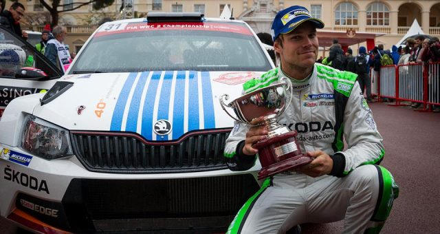 "TRIUMPH AT THE ""MONTE"": MIKKELSEN SETS MILESTONE IN ŠKODA SUCCESS STORY"