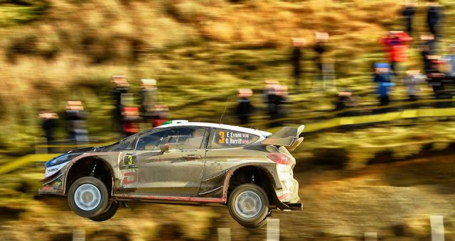 EVANS LEADS M-SPORT ONE-TWO AT THRILLING HOME EVENT