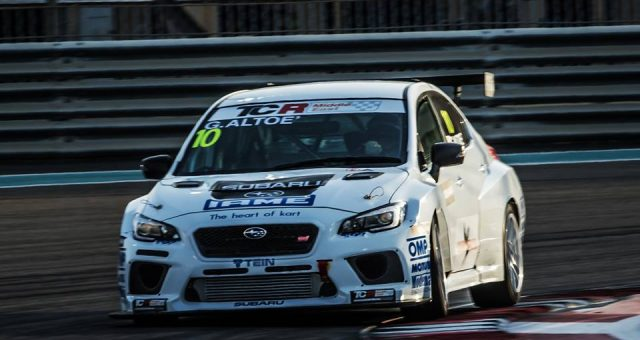 THE 2018 TCR MIDDLE EAST, AN IMPORTANT PLACE FOR TEIN & TOP RUN SUBARU