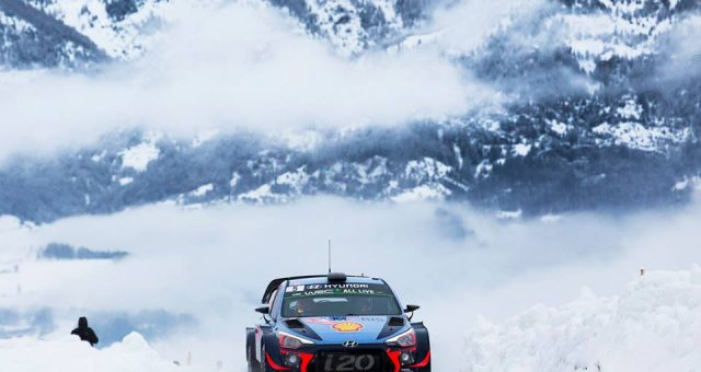 HYUNDAI MOTORSPORT HAS FINISHED A DISAPPOINTING RALLYE-MONTE-CARLO WITH TWO MORE STAGE WINS SUNDAY MORNING AND SEVEN POWER STAGE POINTS