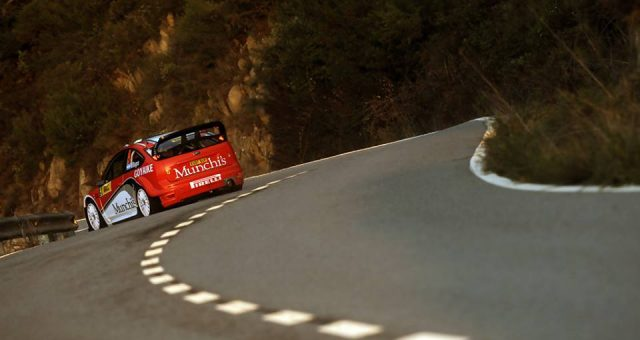 THE ARGENTINES PEREZ-COMPANC AND VOLTA, IN THE RALLY MORITZ COSTA BRAVA