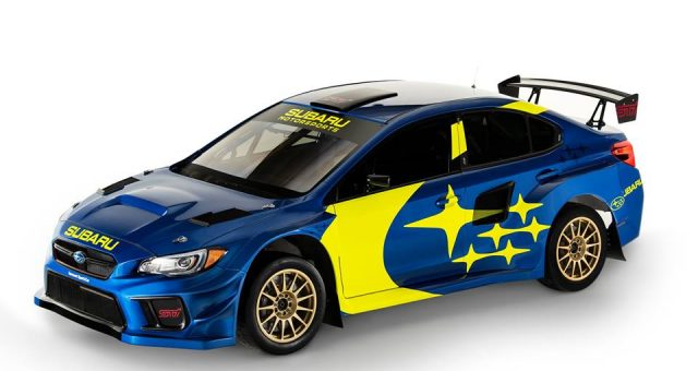 SUBARU  REVEALS ALL-NEW BLUE AND GOLD RACING LIVERY AND NEW MOTORSPORTS BRANDING