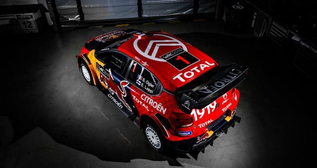 """FRENCHMAN """"SEB OGIER""""🇫🇷EYES SEVENTH TITLE ON THE SPIN FOR CITROËN AHEAD OF RALLYE MONTECARLO"""