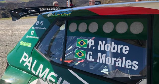 PAULO NOBRE 🇧🇷 PREPARES IN ITALY 🇮🇹 FOR THE RALLY OF AZORES 🇵🇹 FIA 🌍 ERC 2019