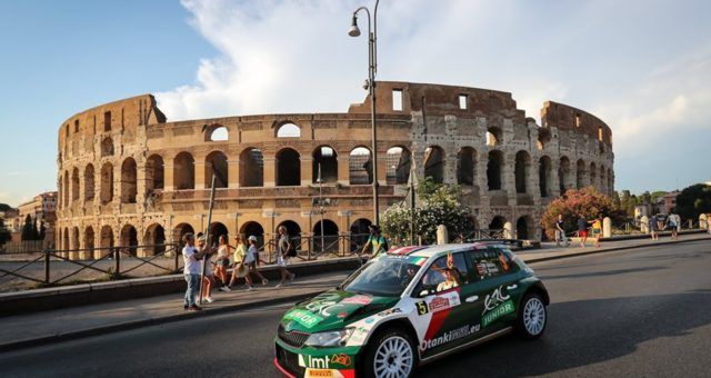 THE ETERNAL CITY EMBRACES ITS RALLY 
