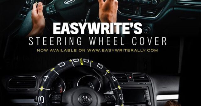 EASYWRITE MAKES ITS DEBUT IN MOTORSPORT: THE PACE NOTES SYSTEM BECOMES A DEVICE 🇬🇧 🇮🇹 🌏