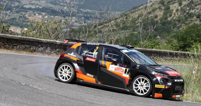 LUKYANUK DOMINATES RALLY DI ROMA CAPITALE, BASSO IS SECOND, LEADING SOLBERG IN ERC 1 JUNIOR 🇮🇹 🌍