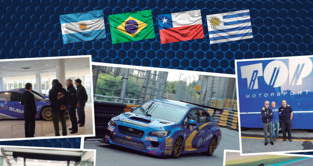THE TOP RUN 🇮🇹 🌏 SUBARU 🇯🇵 🌏 WITH ITS EYES FIXED ON SOUTH AMERICA'S TCR 🇦🇷 🇧🇷 🇨🇱 🇺🇾 🌏
